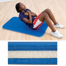 Dual Density Work Out Mat with Handle