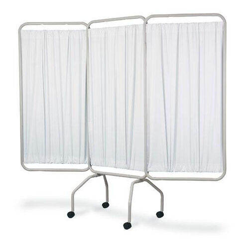 Our 3 Panel Steel Frame Folding Screen With Standard White Vinyl is on sale now.