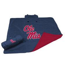 University of Mississippi Team Logo All Weather Blanket