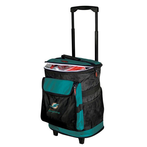 Miami Dolphins Team Logo Rolling Cooler