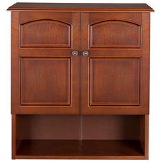 Martha Wall Cabinet Two Doors - Mahogany