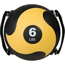 6 lbs. Rhino Ultra-Grip Medicine Ball in Yellow