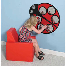 Lily the Ladybug Wall Hung Mirror