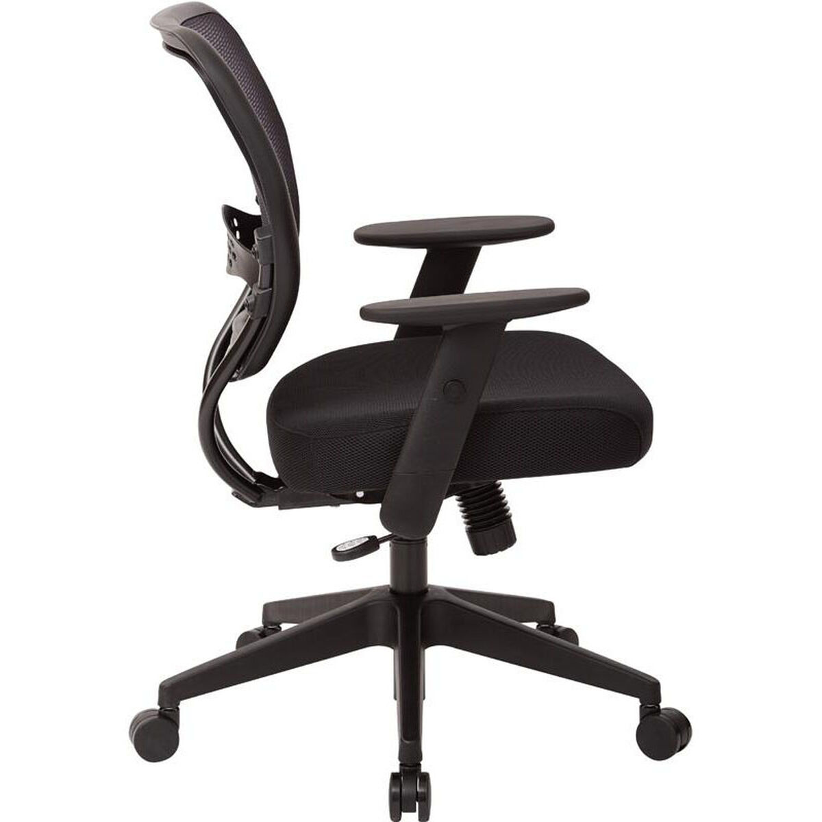 Office Star Products E Professional Air Grid Back Managers Chair With Mesh Seat And 2 To 1 Synchro Tilt Control Black 5500 Bizchair