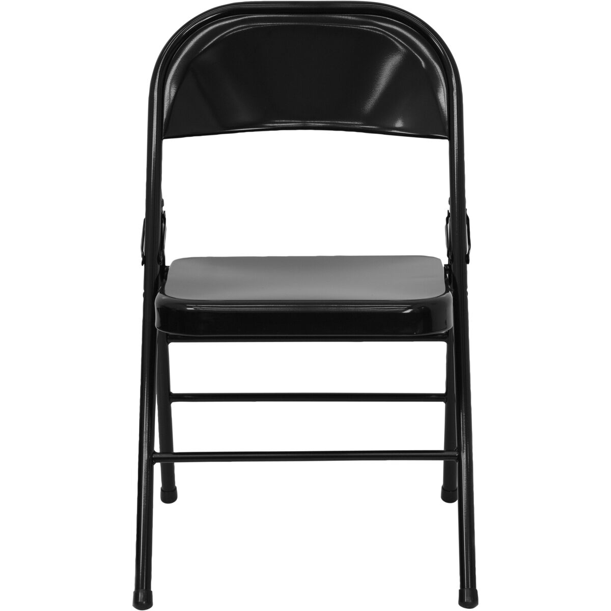 black metal folding chairs. Images. HERCULES Series Triple Braced \u0026 Double-Hinged Black Metal Folding Chair Chairs L