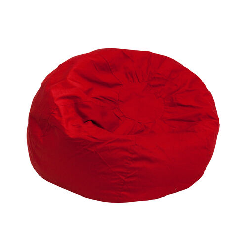 Our Small Solid Red Bean Bag Chair for Kids and Teens is on sale now.