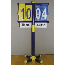 Manual Scorekeeper with Adjustable Stand
