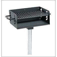 ADA Rotating Pedestal Grill