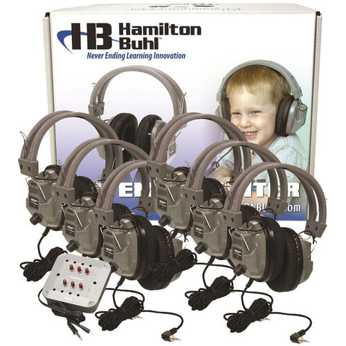Our 6 Station Listening Center with Deluxe Headphones and ASM with Laminated Carrying Box is on sale now.