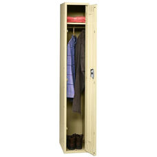 Tennsco Single Tier 1 Column Wide Locker - Sand