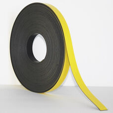 .375''H x 50'L Colored Magnetic Strips - Yellow