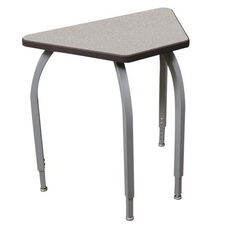 ELO Connect 6 High Pressure Laminate Desk with Adjustable Legs and 1.25