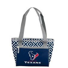 Houston Texans Team Logo Double Diamond 16 Can Cooler