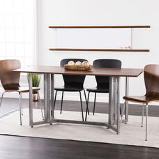 Driness Drop Leaf Console to Dining Table