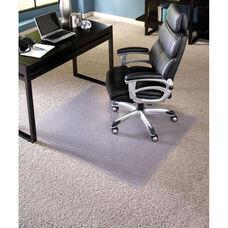EverLife 60''W x 72''D Extra High Pile Rectangular Beveled Edge Anchorbar Chairmat