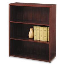 HON® 10500 Series Laminate Bookcase - Three-Shelf - 36w x 13-1/8d x 43-3/8h - Mahogany