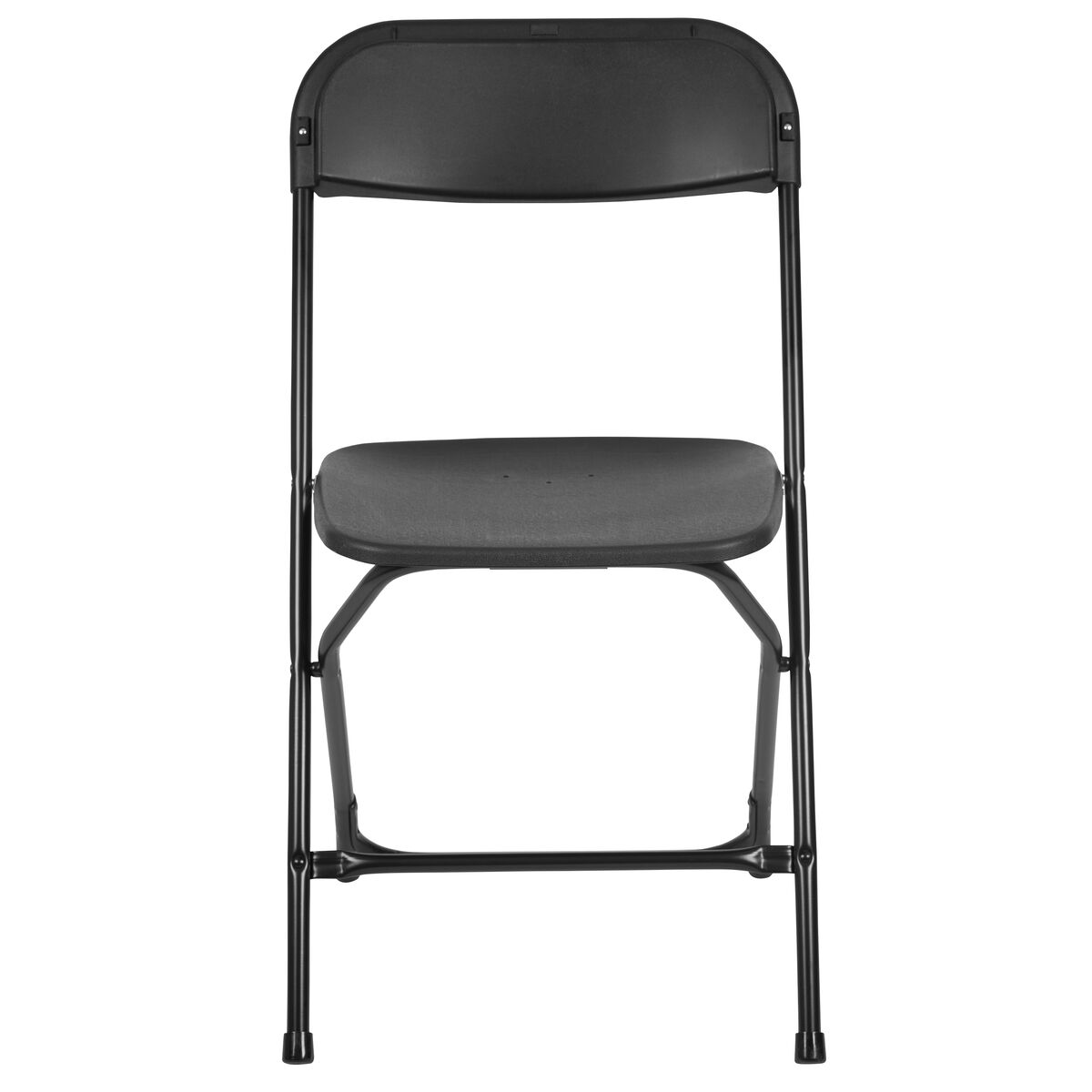 black plastic folding chair le l 3 bk gg bizchair com