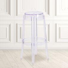 29.75'' High Transparent Barstool