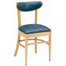 1930 Side Chair with Upholstered Back and Seat - Grade 1