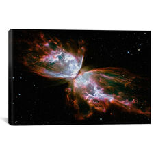 Butterfly Nebula - Hubble Space Telescope by NASA Gallery Wrapped Canvas Artwork