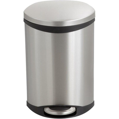 Our Ellipse 3 Gallon Step on Medical Trash Receptacle - Stainless Steel is on sale now.