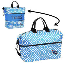 Tennessee Titans Team Logo Double Diamond Expandable Tote