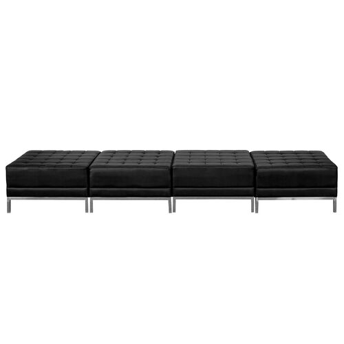 Our HERCULES Imagination Series Black Leather Four Seat Bench is on sale now.