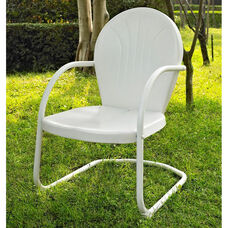 Griffith Metal Chair - White Finish