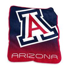 University of Arizona Team Logo Raschel Throw