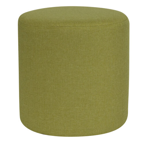 Our Barrington Upholstered Round Ottoman Pouf in Green Fabric is on sale now.