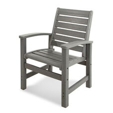 POLYWOOD® Signature Dining Chair - Slate Grey