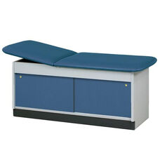 Cabinet Style Laminate Treatment Table - 2 Sliding Doors - 27
