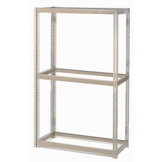 Tan Wide Span Storage Rack Without Deck - 15
