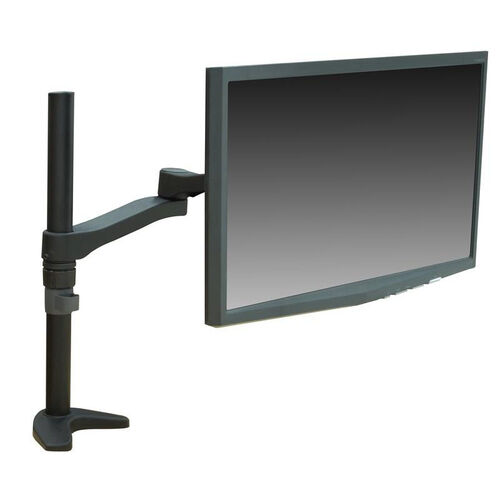 Our Fully Adjustable Metal Frame Single Screen Monitor Mount - Black is on sale now.