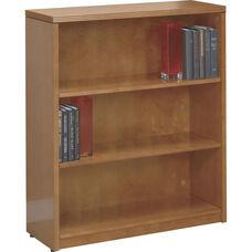 OSP Furniture Kenwood Hardwood Veneer 3-Shelf Bookcase with Adjustable Shelving