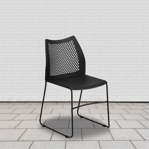 Our HERCULES Series 661 lb. Capacity Stack Chair with Air-Vent Back and Powder Coated Sled Base is on sale now.