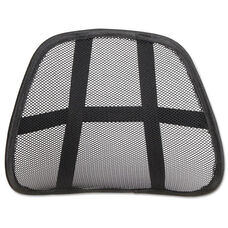 Alera&reg Black Ergonomic Mesh Backrest - 18.13