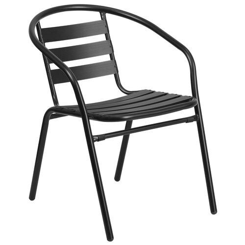 Our Metal Restaurant Stack Chair with Aluminum Slats is on sale now.