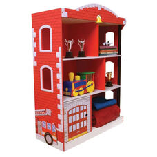 Firefighter Series Wooden Firehouse 38