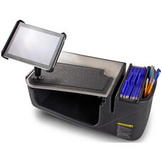 GripMaster Efficiency Auto Desk with Built In 200 Watt Inverter and Universal Tablet Mount