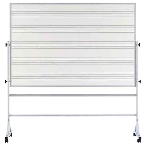 Our Pro-Rite® Markerboard with Music Staff Lines and Aluminum Trim is on sale now.