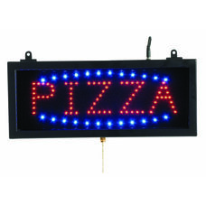 High Visibility LED PIZZA Sign - 6.75
