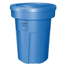 45 Gallon Cobra Food Grade/General Use Trash Can - Blue