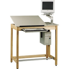 Split Top Drawing Table System