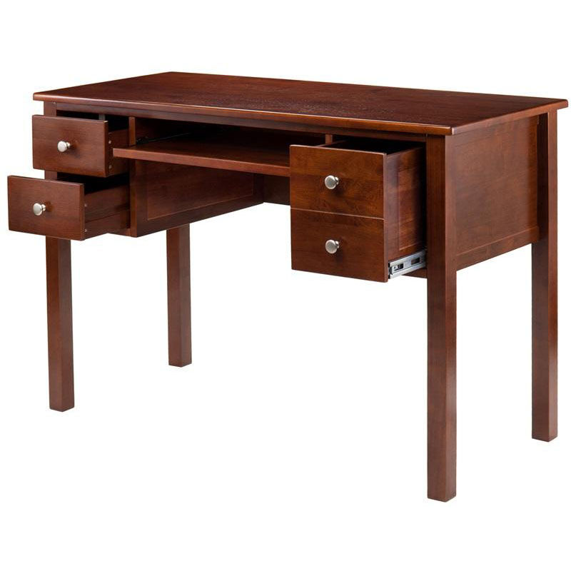 ... Our Emmett Writing Desk With Keyboard Tray And File Drawer   Walnut Is  On Sale Now ...