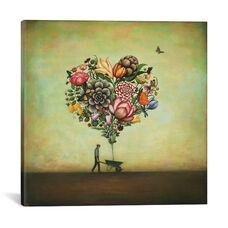 Big Heart Botany by Duy Huynh Gallery Wrapped Canvas Artwork