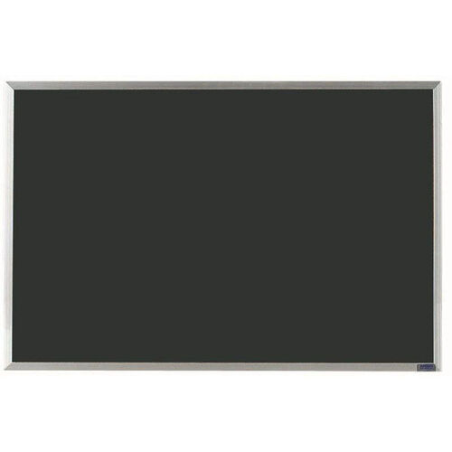 Economy Series Black Composition Chalkboard with Aluminum Frame - 24