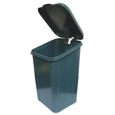 Polyethylene Receptacle With Polyethylene Lid