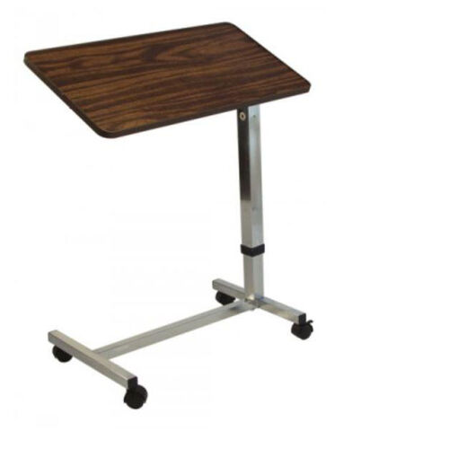 Our Lumex Deluxe Overbed Table with 13 Tilt Positions and Locking Casters is on sale now.