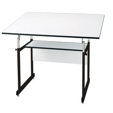Black WorkMaster Jr Drawing Table - 36